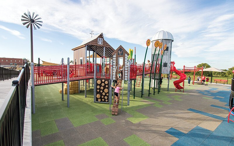 All About Play - playgroundpros - Playground Equipment - Inclusive Playground Photo 1