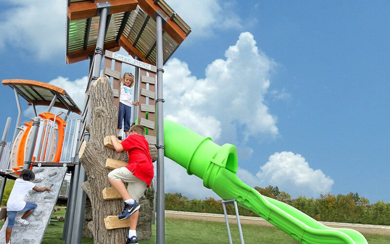All About Play - playgroundpros - Playground Equipment - Nature Play Photo 2