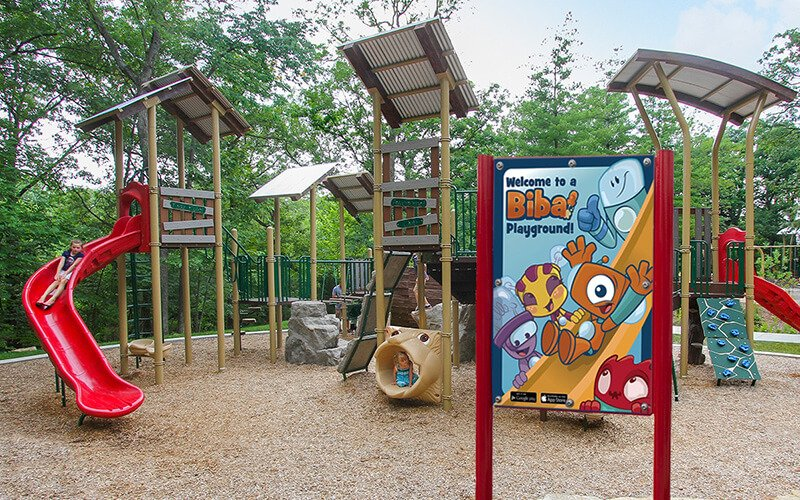 All About Play - playgroundpros - Playground Equipment - Top Section - Biba Photo 3