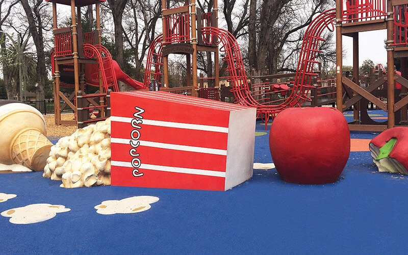 All About Play - playgroundpros - Playground Equipment - Top Section - Cemrock Photo 3