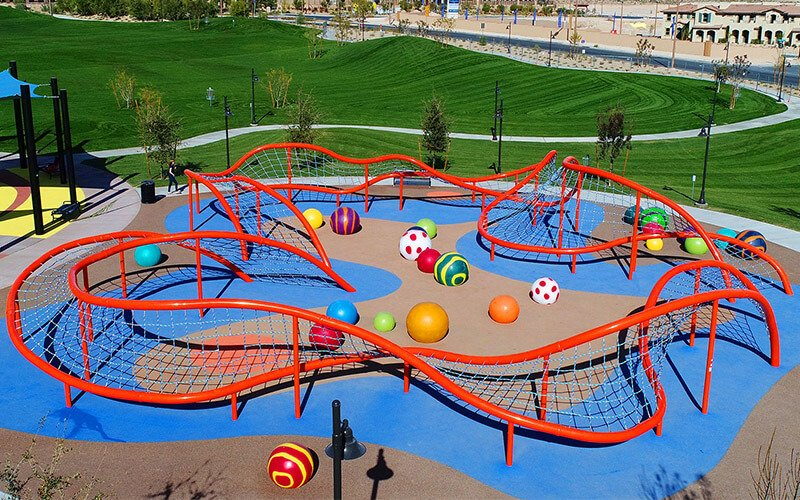 All About Play - playgroundpros - Playground Equipment - Top Section - Dynamo Photo 1