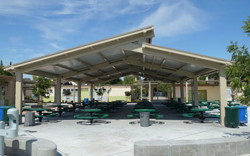 All About Play - playgroundpros - Shelters & Shade Structures - Top Section - DSA Photo 3
