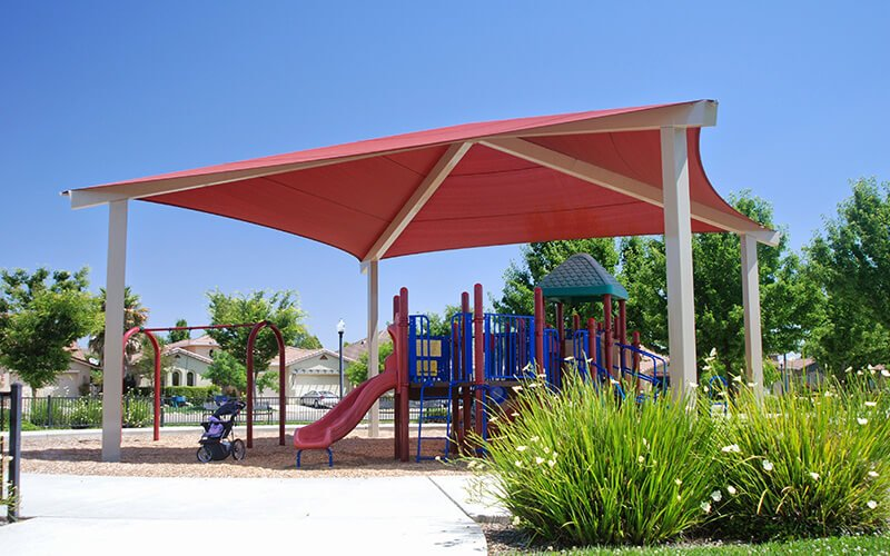 All About Play - playgroundpros - Shelters & Shade Structures - Top Section - Poligon 2 Photo