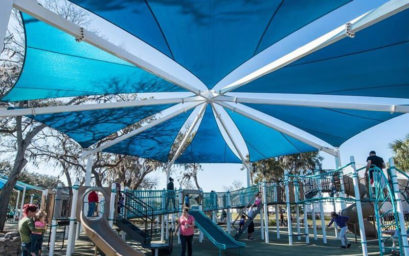 All About Play - playgroundpros - Shelters & Shade Structures - Top Section - USA Shade Photo 1