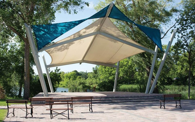 All About Play - playgroundpros - Shelters & Shade Structures - Top Section - USA Shade Photo 3