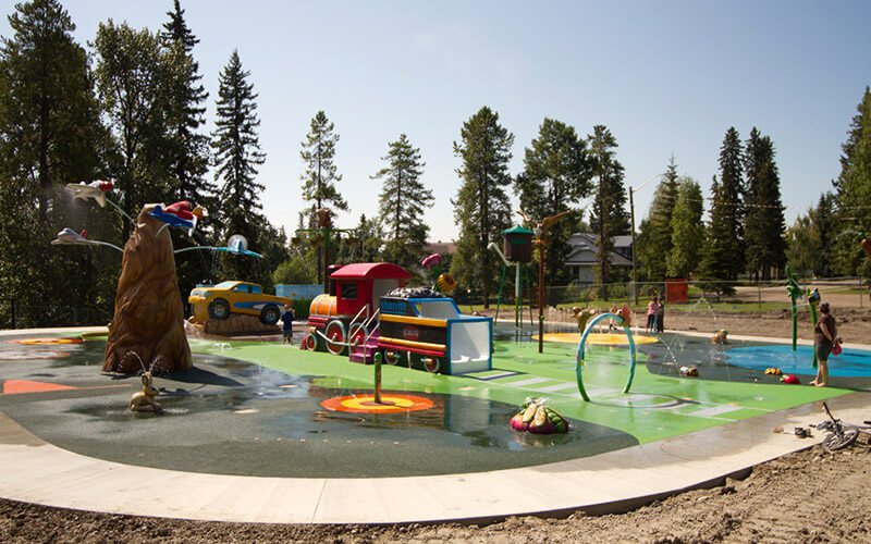 All About Play - playgroundpros - Spray Parks - Top Section - Secondary Water Use System Photo 3