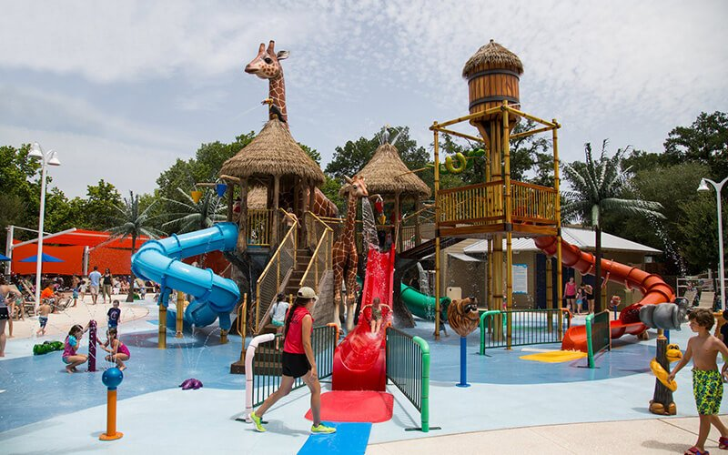 All About Play - playgroundpros - Spray Parks - Top Section - Secondary Water Use System Photo (Left)