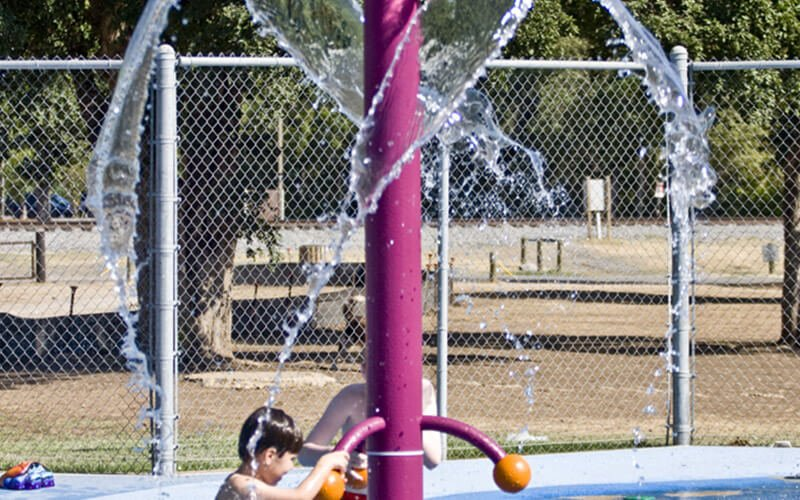 All About Play - playgroundpros - Spray Parks - Top Section - Spray Feature Photo 1