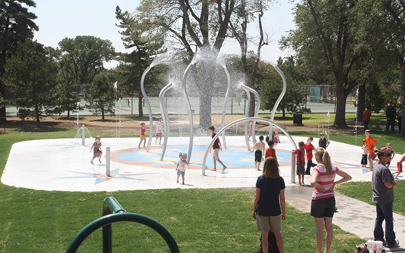 All About Play - playgroundpros - Spray Parks - Top Section - Water Odyssey Photo 2