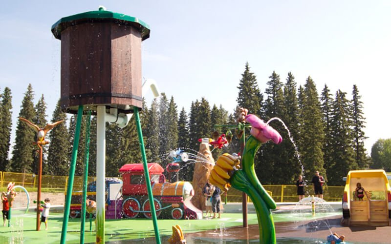 All About Play - playgroundpros - Spray Parks - Top Section - Water Odyssey Photo 3