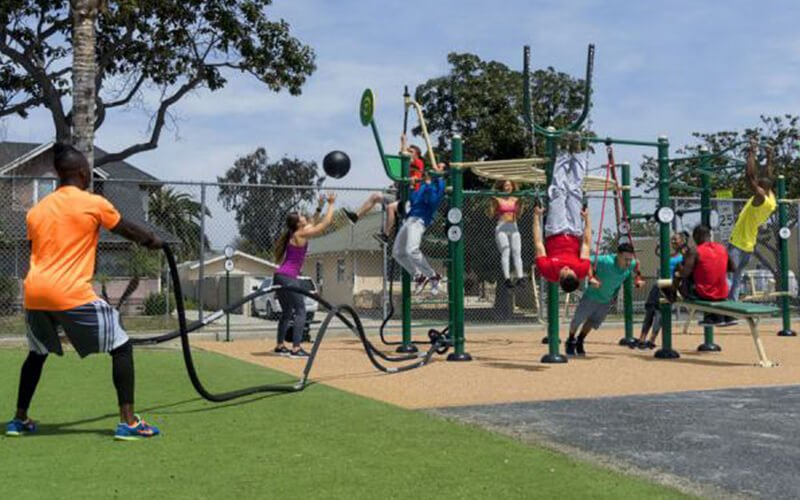 All About Play - playgroundpros - What's New - Fitness Equipment Photo 1